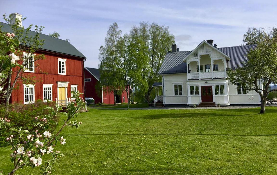 K-märkt gård i Lungre